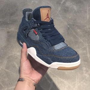 Levi's×Air Jordan 4 AJ4 AO2571-401  Sneaker MS09068