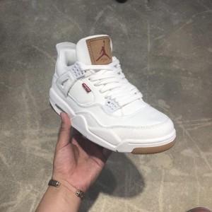 Levi's×Air Jordan 4 AJ4 AO2571-100 Sneaker MS09069