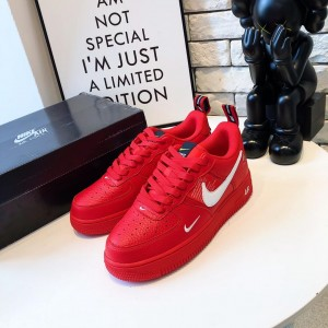Nike Air Force 1 '07 LV8 Utility Red/White Low AF1 MS09121