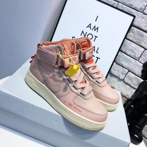 "Nike Air Force 1 High Utility ""Particle Beige"" Women's Shoes MS09122"