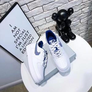 Nike Air Force 1 Gingham Pack AV6232 100 Womens Running Shoes MS09131