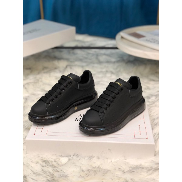 Alexander McQueen Fahion Sneaker Black and transparent sole MS100021 Updated in 2019.09.1