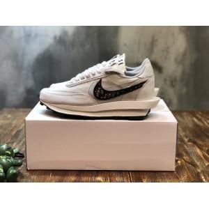 Dior x Sacai x Nike LVD Waffle Daybreak Fashion Design Sneakers MS110114