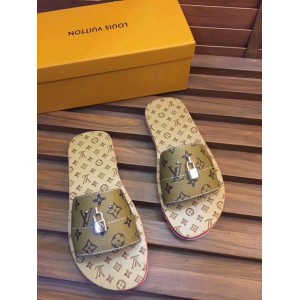 High Quality Louis Vuitton Lock It Mule Sandals OF_31C84CA73A5F