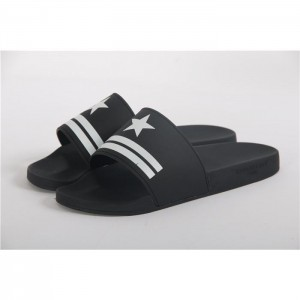 High Quality Givenchy Star & Stripe Rubber Slide Sandals In Black SN_0C8F6303C2A7